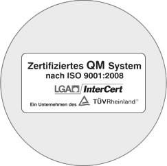 Zertifiziertes QM